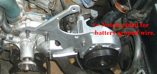 water pump boltstud location ford mustang forums